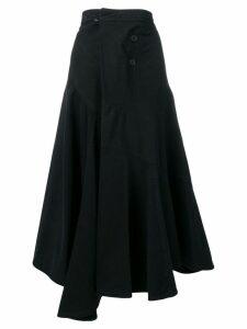 JW Anderson asymmetric midi skirt - Blue