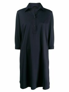 Rrd plain polo shirt dress - Blue