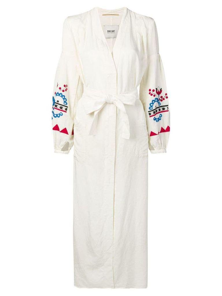 Bazar Deluxe Giubbino coat - White
