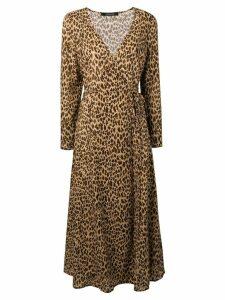 Andamane Andrea wrap maxi dress - Neutrals