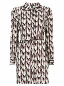 Norma Kamali knit printed tunic - Multicolour