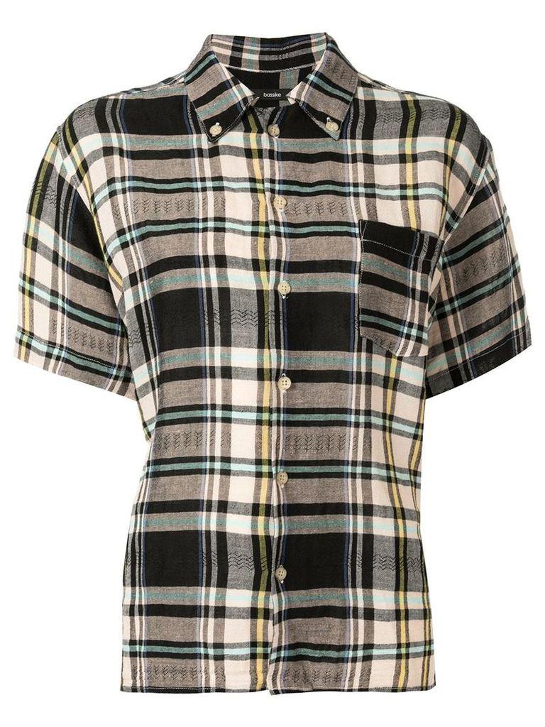 Bassike vintage check short sleeve shirt - Multicolour