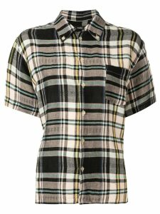 Bassike vintage check short sleeve shirt - Multicolour