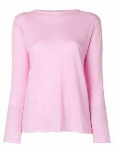 Liska boat neck jumper - Pink