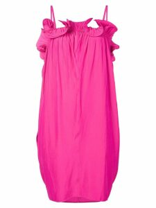 LANVIN petal-shaped ruffle dress - Pink