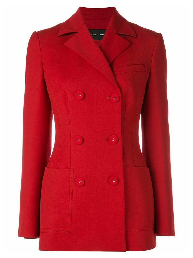 Proenza Schouler Double breasted blazer - Red