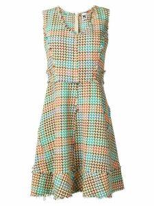 M Missoni geometric patterned dress - Neutrals