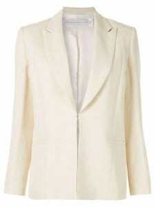 Victoria Victoria Beckham single-breasted blazer - Yellow