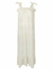 Tara Matthews seashell printed maxi dress - Neutrals