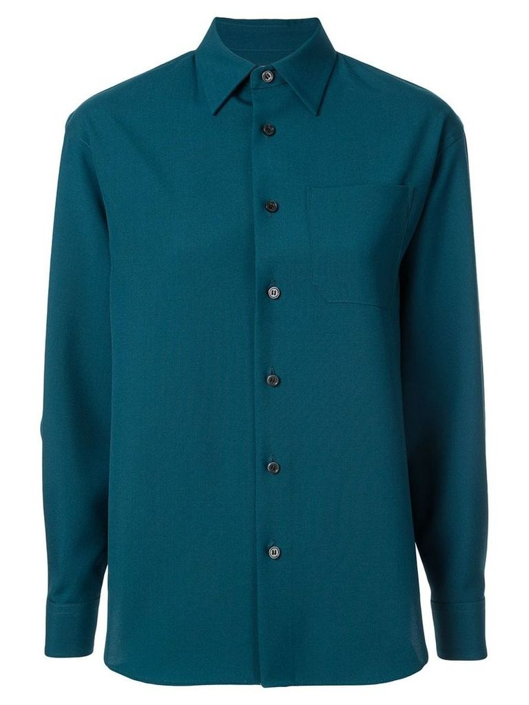 Facetasm cut-out shirt - Green