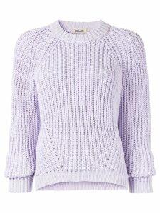 Baum Und Pferdgarten long sleeve knitted jumper - Purple