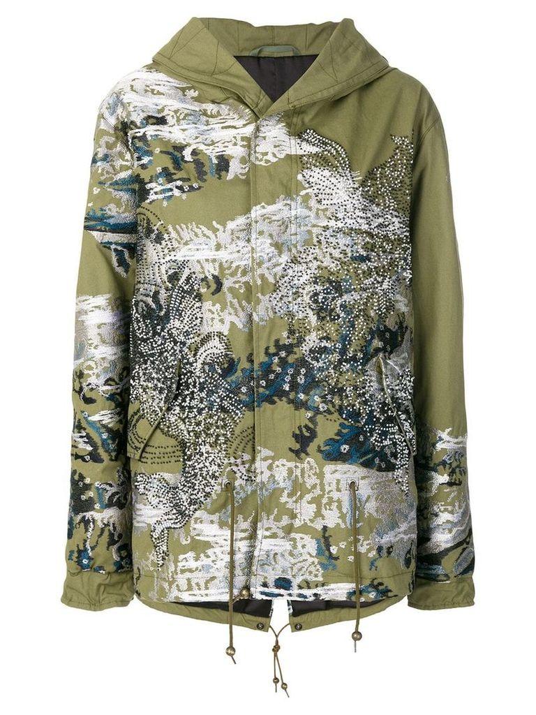 Mr & Mrs Italy Jonathan Riss parka coat - Green