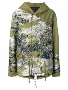 Mr & Mrs Italy Jonathan Riss parka coat - Green