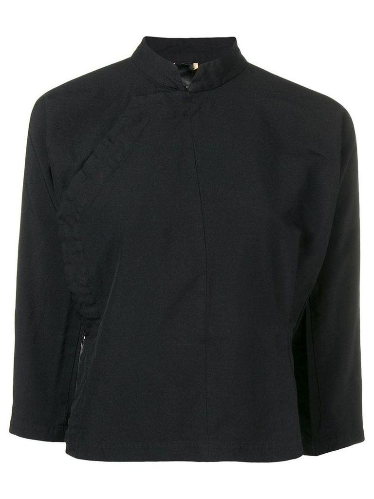 Comme Des Garçons Comme Des Garçons mandarin shirt - Black