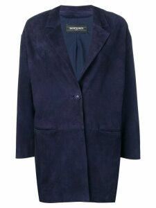 Simonetta Ravizza V-neck jacket - Blue