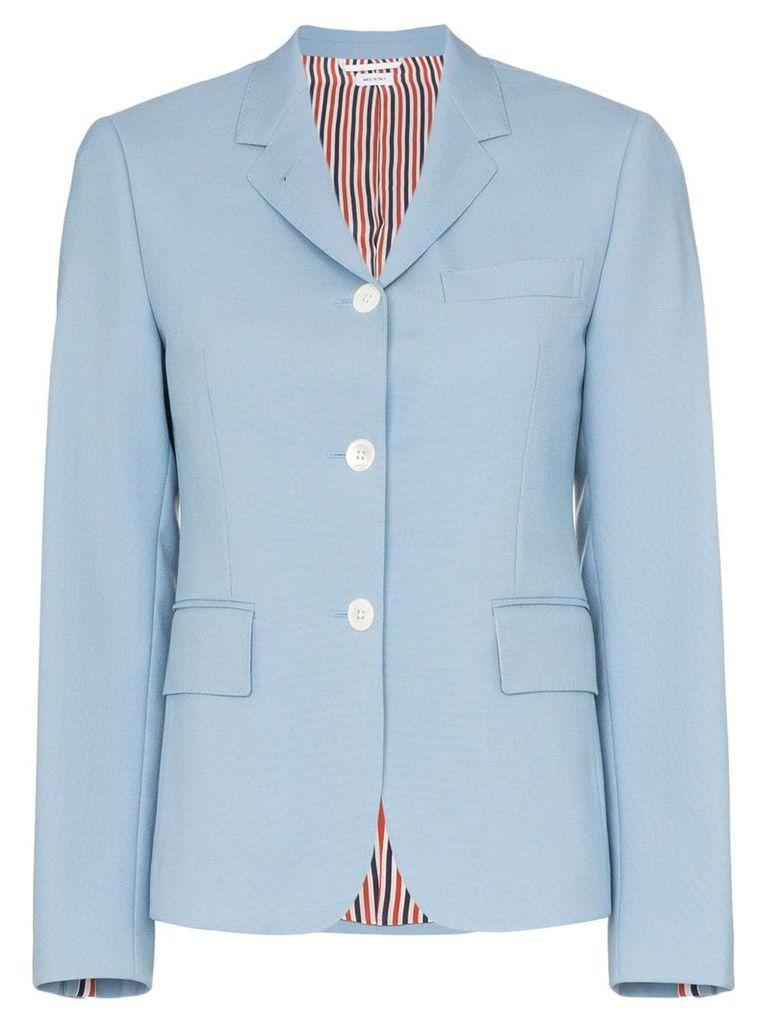 Thom Browne Dyed sport coat - Blue