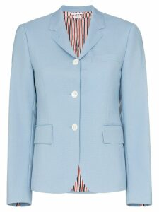 Thom Browne Dyed sport coat - Blue