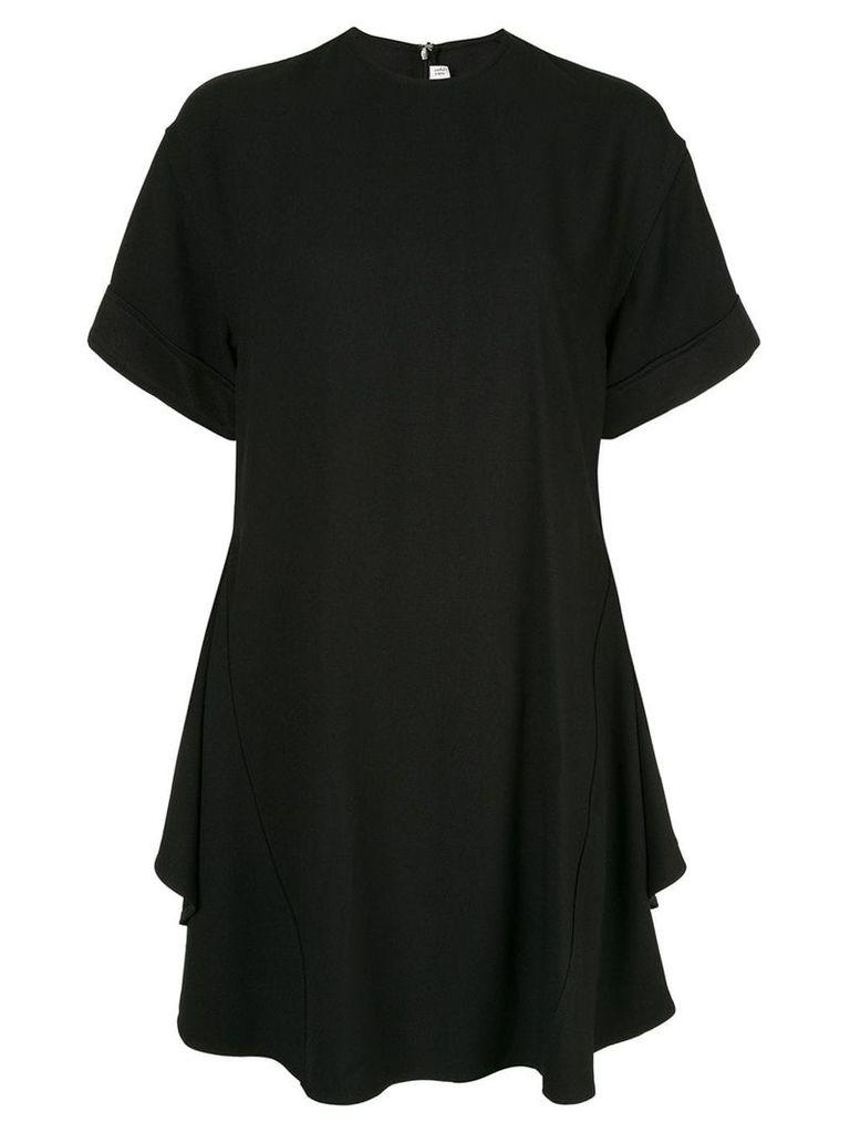Victoria Beckham circle folded T-shirt dress - Black