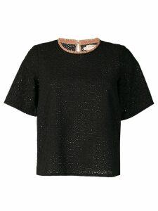 Cotélac lace blouse - Black