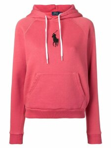 Polo Ralph Lauren logo embroidered hoodie