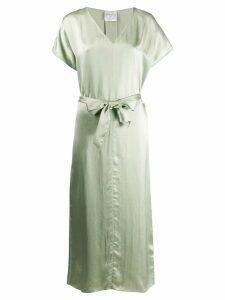 Forte Forte belted waist shirt dress - Green
