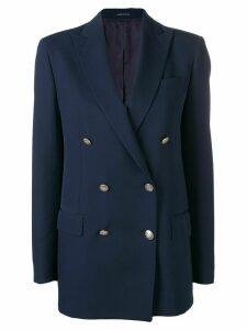 Tagliatore double breasted blazer - Blue