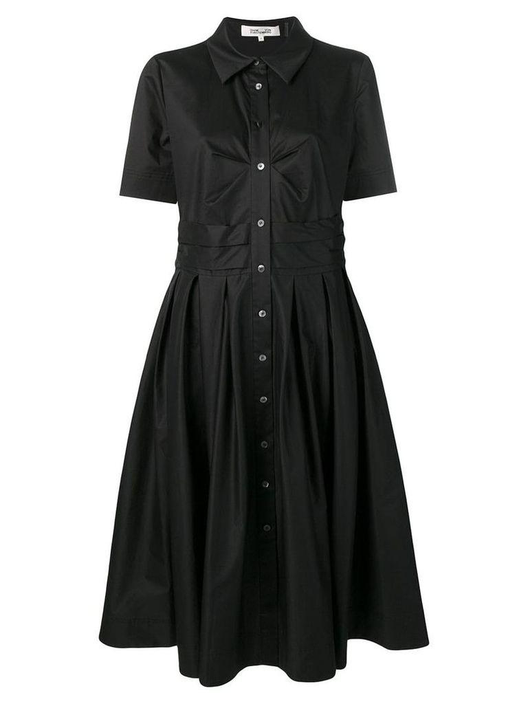 Dvf Diane Von Furstenberg A-line shirt dress - Black