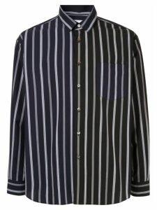 Ports V two tone shirt - Blue