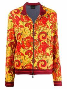 Rrd printed track jacket - Orange