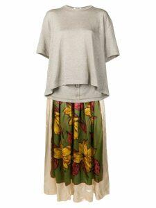 Junya Watanabe two part dress - Neutrals