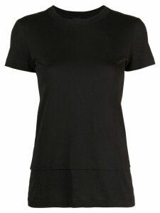 Vera Wang double layer T-shirt - Black