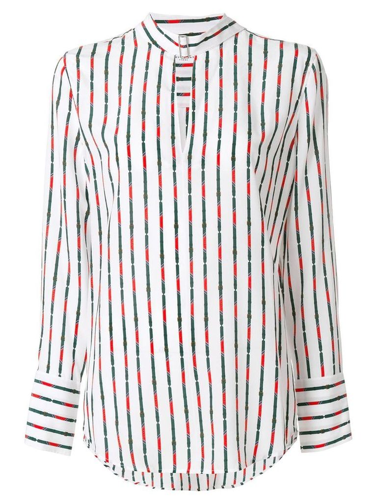 Equipment striped blouse - White
