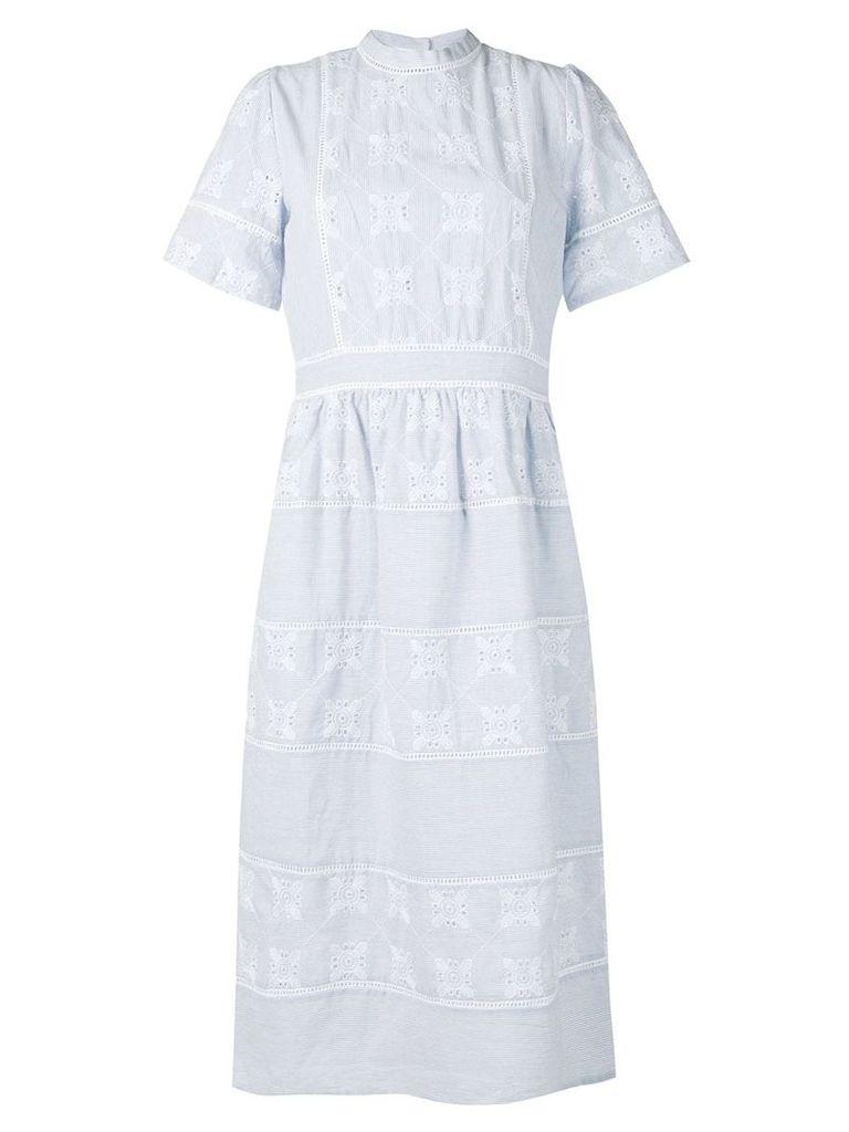 Cotélac lace dress - Blue