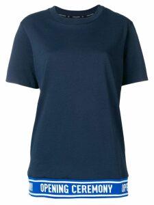 Opening Ceremony logo band T-shirt - Blue