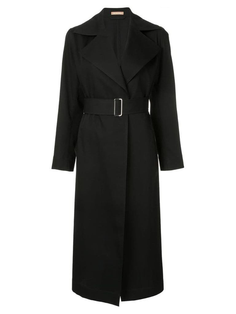 Nehera belted trench coat - Black