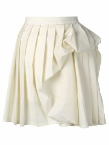 Y/Project gathered detail pleated skirt - Neutrals