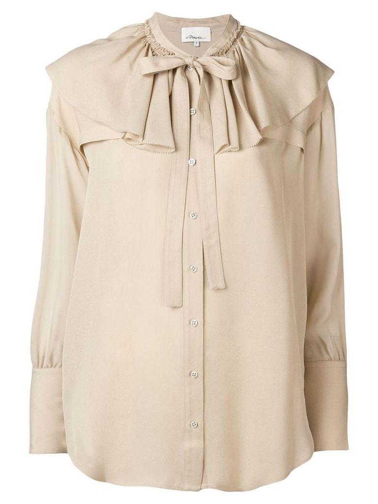 3.1 Phillip Lim ruffle-collar blouse - Neutrals