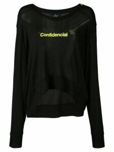 Marcelo Burlon County Of Milan Confidential T-shirt - Black