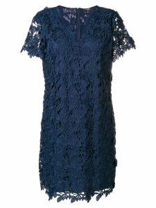 Steffen Schraut embroidered floral dress - Blue