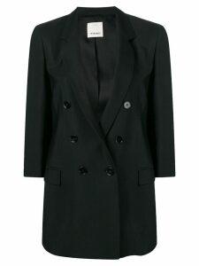 Pinko double breasted blazer - Black