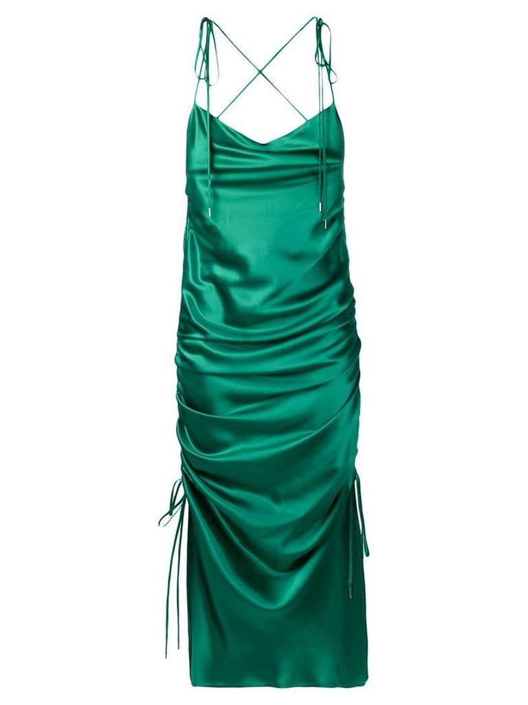 Galvan Yasmine dress - Green
