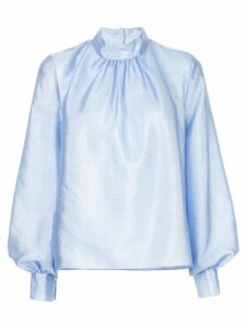 Stine Goya billowing sleeve blouse - Blue