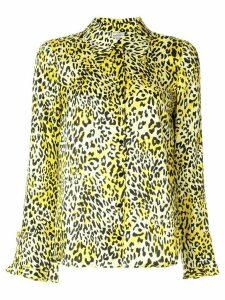 Baum Und Pferdgarten leopard print shirt - Yellow