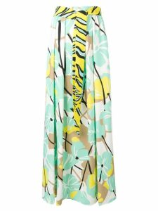 Cavalli Class tie waist skirt - Green