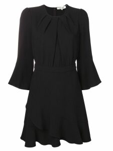 Dvf Diane Von Furstenberg flared cuff dress - Black