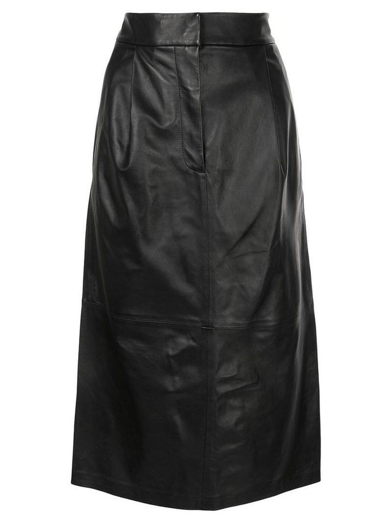 Tibi midi skirt - Black