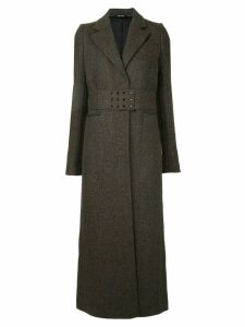 Maison Margiela tailored belted coat - Multicolour