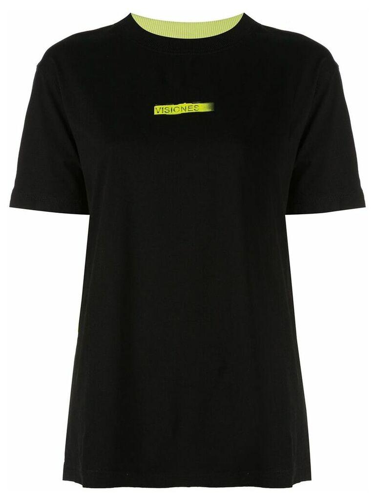 Marcelo Burlon County Of Milan colour block T-shirt - Black