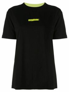 Marcelo Burlon County Of Milan colour block T-shirt - Black