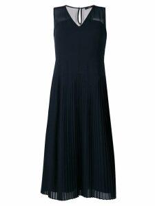 PS Paul Smith pleated dress - Blue